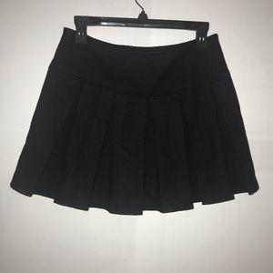Skirts - Pleated winter skirt